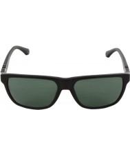 Emporio Armani Ea4035 58 moderne sorte 501771 solbriller