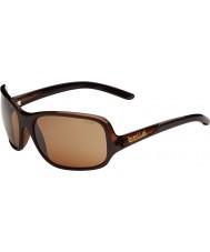 Bolle Kassia skinnende chokolade polariseret sandsten pistol solbriller