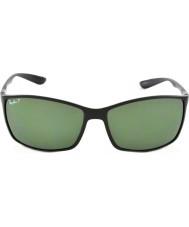 RayBan Rb4179 62 liteforce mat sort 601s9a polariserede solbriller