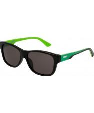 Puma Kids pj0004s sorte grønne røg solbriller