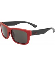 Bolle Daemon jr. mat rød sort TNS-solbriller