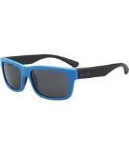 Bolle Daemon jr. mat blå sort TNS-solbriller