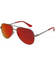 Puma Kids pj0010s ruthenium røde solbriller