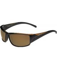 Bolle Keelback skinnende brun polariserede AG-14 solbriller