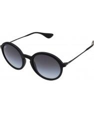 RayBan Rb4222 50 ungt menneske sort gummi 622-8g solbriller
