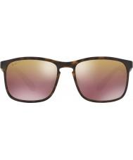 RayBan Rb4264 58 tech chromance mat havana 894-6b brun spejl polariseret solbriller