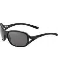 Bolle Solden skinnende sort polariseret TNS-solbriller