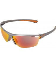 Cebe Cinetik store metalliske grå solbriller