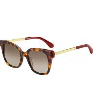 Kate Spade New York Ladies caelyn s 65t ha 52 solbriller
