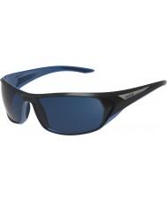 Bolle Blacktail skinnende sort blå polariserede offshore blå solbriller