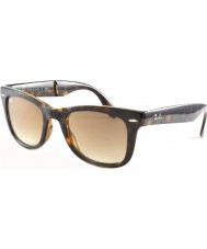 RayBan Rb4105 50 folde wayfarer lys skildpaddeskal 710-51 solbriller