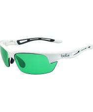 Bolle Bolt s skinnende hvid competivision pistol tennis solbriller