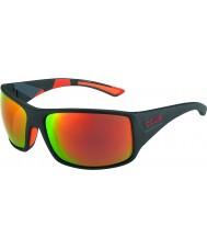Bolle Tigersnake mat sort camo polariseret TNS brand solbriller