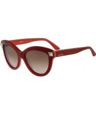 Valentino Ladies v695s engelsk røde solbriller