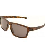 Oakley Oo9262-03 splint mat brun skildpaddeskal - varme grå solbriller