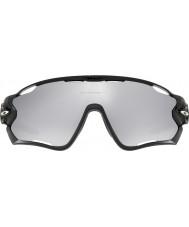 Oakley Oo9290-19 jawbreaker poleret sort - krom iridium ventilerede solbriller