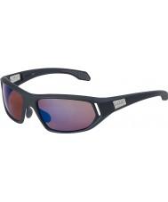 Bolle Cervin satin mørkegrå rose blå solbriller