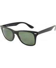 RayBan Rb4195 52 wayfarer liteforce mat sort 601s9a polariserede solbriller