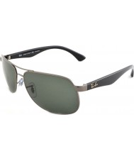 RayBan Rb3502 61 highstreet gunmetal 004-58 polariserede solbriller
