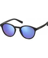 Polaroid Pld6013-s DL5 jy mat sort polariserede solbriller