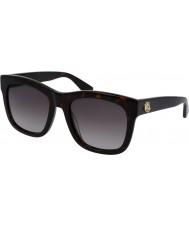 Gucci Ladies gg0032s havana solbriller