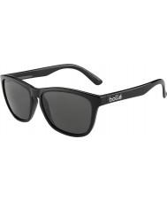 Bolle 437 retro indsamlingen skinnende sort polariseret TNS-solbriller