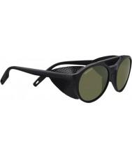 Serengeti 8585 leandro glacier sorte solbriller