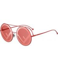 Fendi Damer ff0285 s c9a 0l 63 løbe væk solbriller