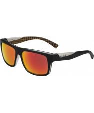 Bolle Clint mat sort appelsin polariseret TNS brand solbriller