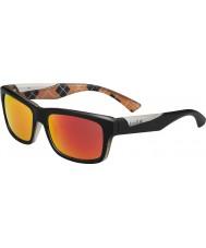 Bolle Jude mat sort appelsin polariseret TNS brand solbriller