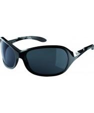 Bolle Grace skinnende sorte TNS-solbriller
