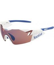 Bolle 6. sans skinnende hvid rose blå solbriller