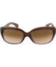 RayBan Rb4101 58 Jackie Ohh brun gradient lilla 860-51 solbriller