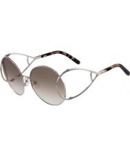 Chloe Ladies ce124s sølv og brune solbriller