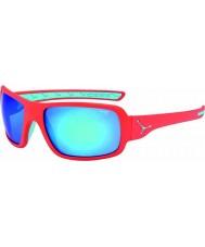 Cebe Changpa mat pink 1500 grå flash spejl blå solbriller