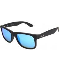 RayBan Rb4165 Justin sort - blåt spejl