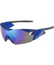Bolle 6th Sense s mat navy blå-violette solbriller