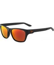 Cebe Hacker mat grå 1500 grå flash spejl appelsin solbriller