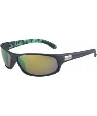 Bolle Anaconda mat blå grøn polariseret brune smaragd solbriller