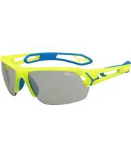 Cebe Cbstmpro s-track m gule solbriller