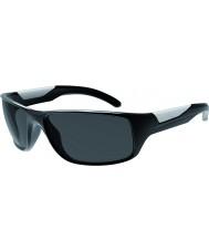 Bolle Vibe skinnende sort polariseret TNS-solbriller