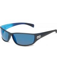 Bolle Python mat sort blå polariserede gb-10 solbriller