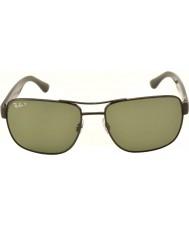 RayBan Rb3530 58 highstreet rødgods 002-9a polariseret solbriller