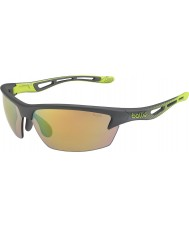 Bolle Bolt s røg kalk modulator brun smaragd solbriller