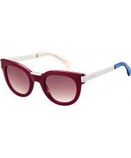 Tommy Hilfiger Ladies th 1379-s qei xk bordeaux palladium solbriller