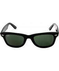 RayBan Rb2140 original wayfarer sort - grøn
