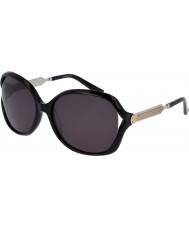 Gucci Ladies gg0076s sort sølv solbriller