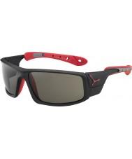 Cebe Ice 8000 mat sort rød variochrom peak solbriller