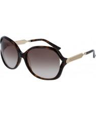 Gucci Ladies gg0076s havana guld solbriller