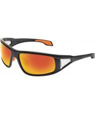 Bolle Diablo skinnende sorte TNS brand solbriller